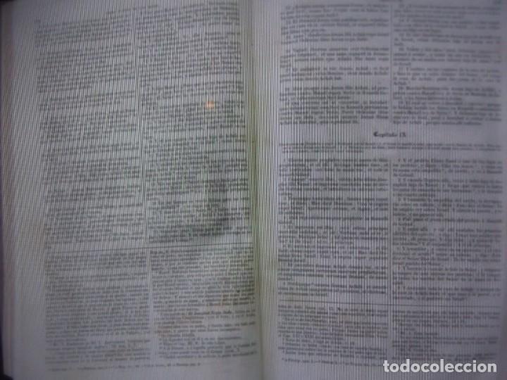Libros antiguos: Phelipe Scio de S.Miguel -La Santa Biblia 5 TOMOS . (de la Vulgata Latina) - Foto 97 - 233708645