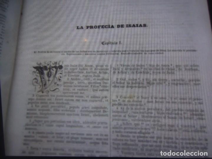 Libros antiguos: Phelipe Scio de S.Miguel -La Santa Biblia 5 TOMOS . (de la Vulgata Latina) - Foto 118 - 233708645