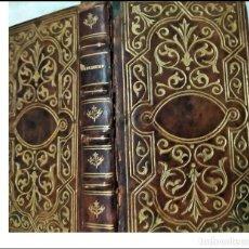 Libros antiguos: LIBRO DE PRINCIPIOS DE SIGLO CON PRECIOSA ENCUADERNACIÓN EN REPUJADO.. Lote 234061690