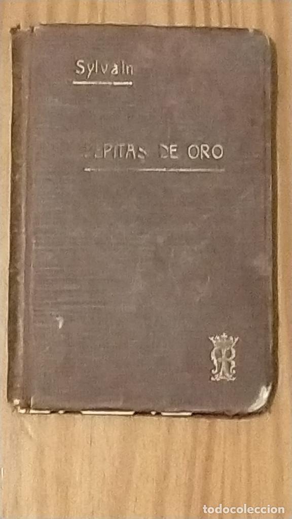PEPITAS DE ORO VOLUMEN VIII SYLVAIN 1916 13.5 X 9 X 1 (Libros Antiguos, Raros y Curiosos - Religión)