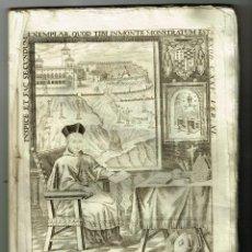 Libros antiguos: VERDADERA EFIGIE GRANADA GNOMON SEU GUBERNANDINORMA CASTRO DE VACA GRABADOS. Lote 234540895