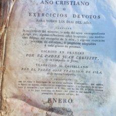 Libros antiguos: LIBRO RELIGIOSO 1818.. Lote 234948200