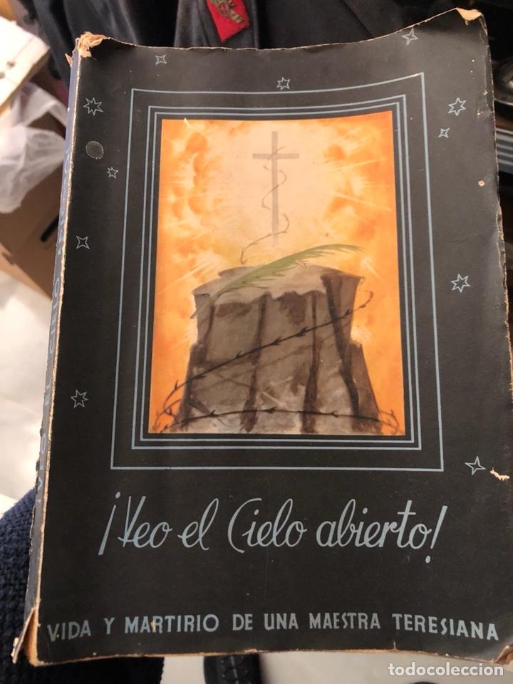 LIBRO VEO EL CIELO ABIERTO (Libros Antiguos, Raros y Curiosos - Religión)