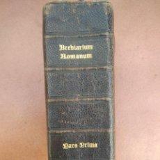 Libros antiguos: ANTIGUO MISAL EN LATIN AÑO 1905. Lote 235283650