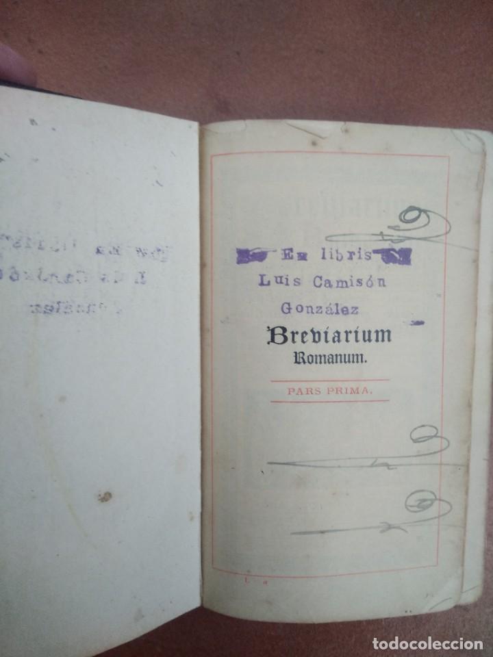 Libros antiguos: Antiguo misal en latin año 1905 - Foto 3 - 235283650