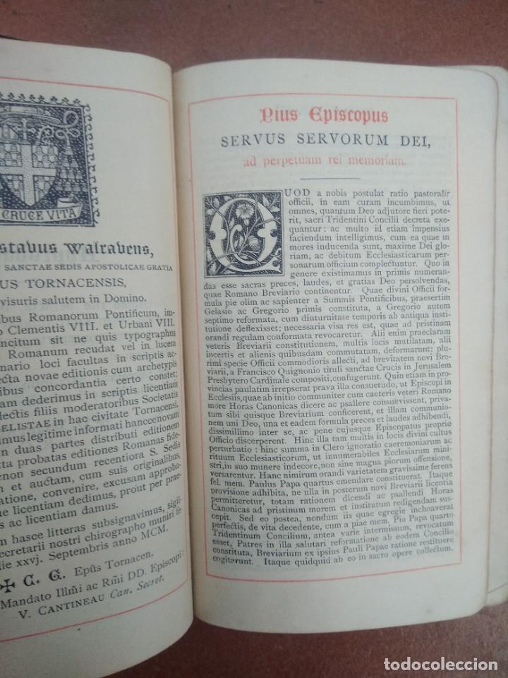 Libros antiguos: Antiguo misal en latin año 1905 - Foto 4 - 235283650