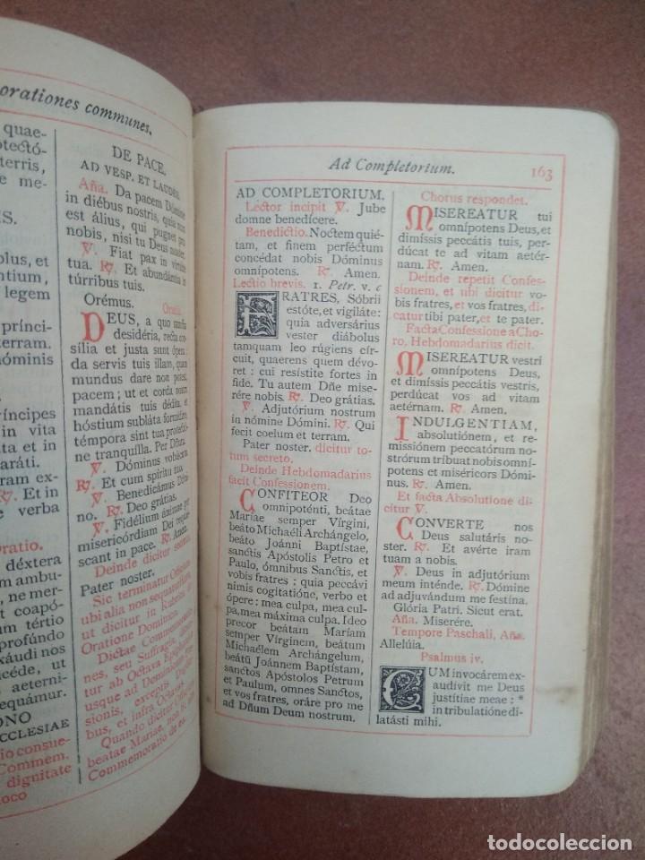 Libros antiguos: Antiguo misal en latin año 1905 - Foto 5 - 235283650