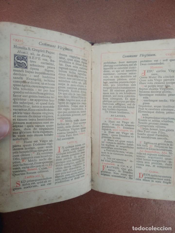 Libros antiguos: Antiguo misal en latin año 1905 - Foto 6 - 235283650