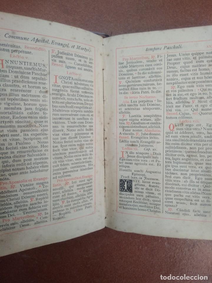 Libros antiguos: Antiguo misal en latin año 1905 - Foto 7 - 235283650