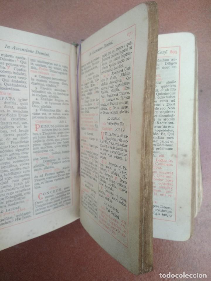 Libros antiguos: Antiguo misal en latin año 1905 - Foto 8 - 235283650