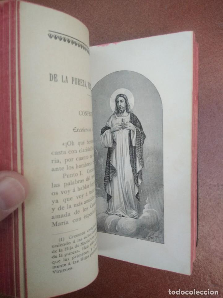 Libros antiguos: Antiguo libro las hijas de maria, su conducta en el mundo, año 1904 - Foto 5 - 235284680