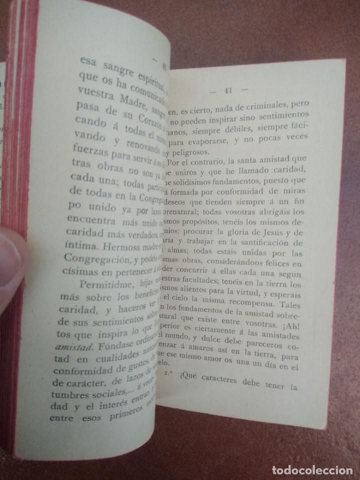 Libros antiguos: Antiguo libro las hijas de maria, su conducta en el mundo, año 1904 - Foto 6 - 235284680