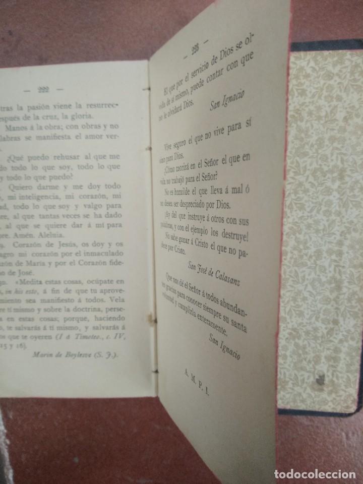 Libros antiguos: Antiguo libro las hijas de maria, su conducta en el mundo, año 1904 - Foto 8 - 235284680