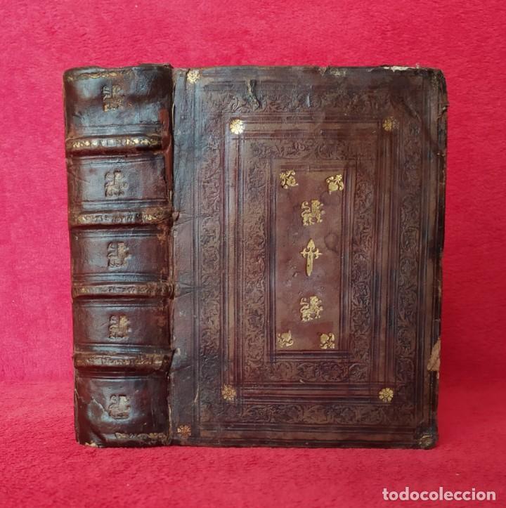 AÑO 1586 - 22 CM - DE ARTE MAGICA - TRATADO DE LOS ANGELES Y LUCIFER - ENCUADERNACIÓN PLATERESCA (Libros Antiguos, Raros y Curiosos - Religión)