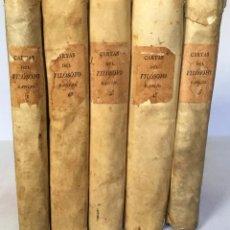Libros antiguos: CARTAS CRÍTICAS QUE ESCRIBIÓ... Ó SEA EL FILÓSOFO RANCIO, EN LAS QUE CON MAYOR SOLIDEZ, ERUDICIÓN.... Lote 235921540