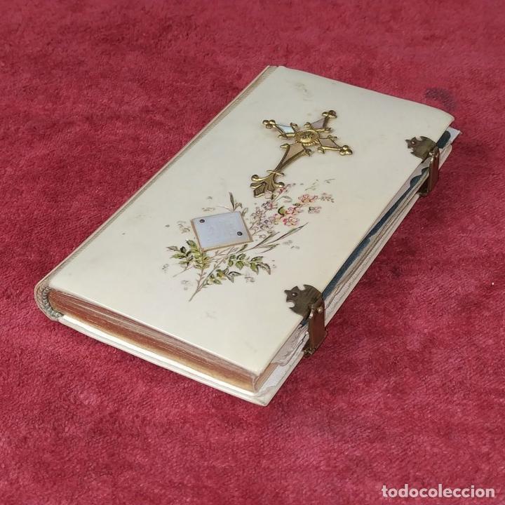 Libros antiguos: DEVOCIONARIO. NOVÍSIMO DIAMANTE DIVINO. STEINBRENER. ALEMANIA. CIRCA 1889 - Foto 9 - 236331370