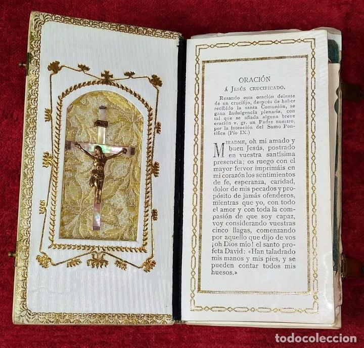 Libros antiguos: DEVOCIONARIO. NOVÍSIMO DIAMANTE DIVINO. STEINBRENER. ALEMANIA. CIRCA 1889 - Foto 15 - 236331370