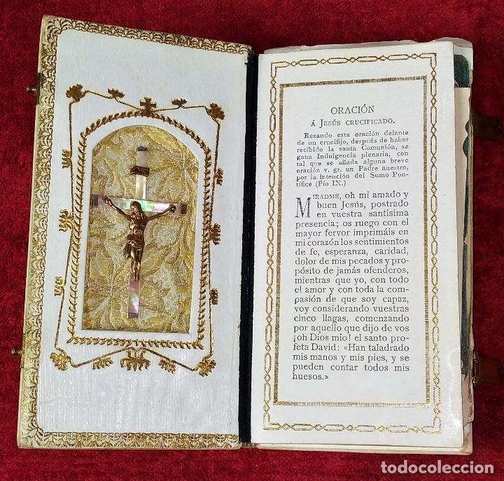 DEVOCIONARIO. NOVÍSIMO DIAMANTE DIVINO. STEINBRENER. ALEMANIA. CIRCA 1889 (Libros Antiguos, Raros y Curiosos - Religión)