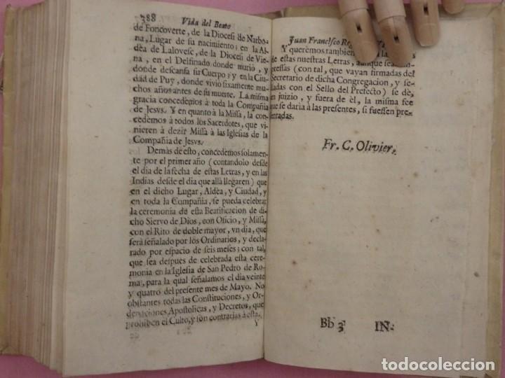 Libros antiguos: VIDA DE JUAN FRANCISCO REGIS. COMP. DE JESÚS. 2ª EDICIÓN ESPAÑOLA. AÑO 1718. - Foto 14 - 236650655