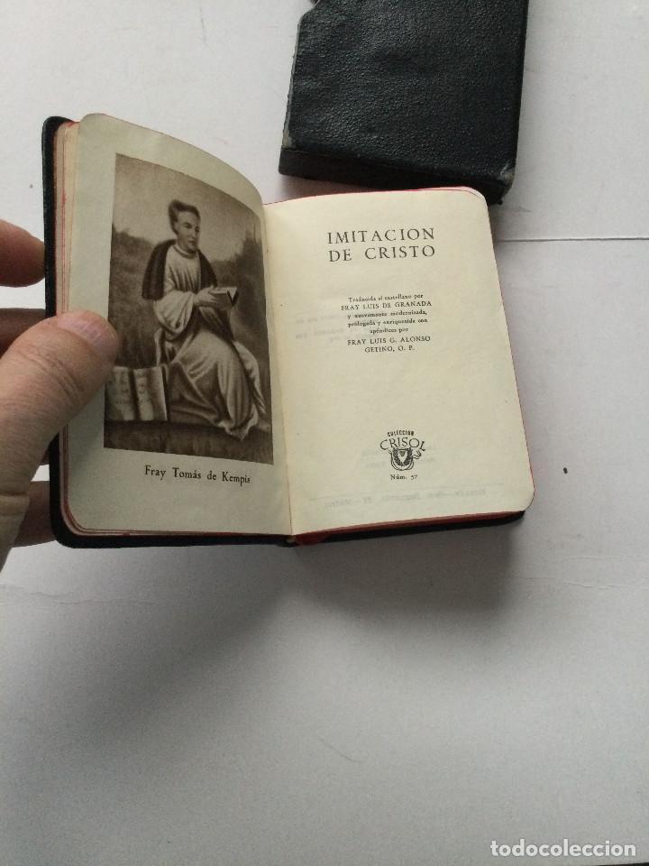 Libros antiguos: Crisol 57 Especial Tipo B, Kempis Imitación de Cristo, Aguilar - Foto 5 - 237260680