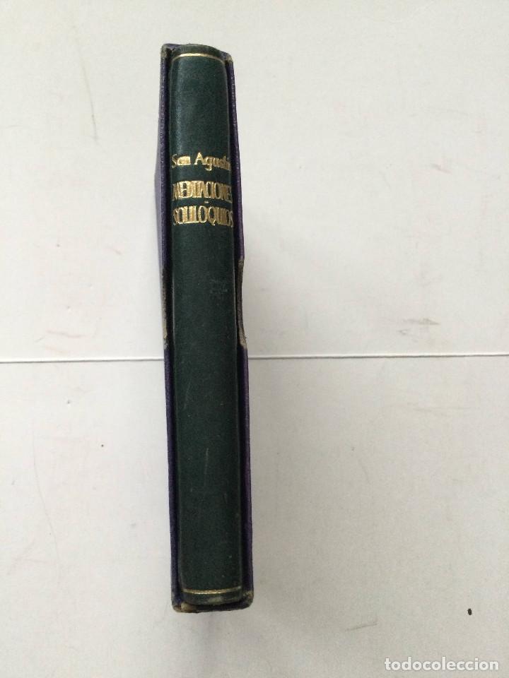 CRISOL 148 ESPECIAL TIPO B, SAN AGUSTÍN, MEDITACIONES Y SOLILOQUIOS, AGUILAR (Libros Antiguos, Raros y Curiosos - Religión)