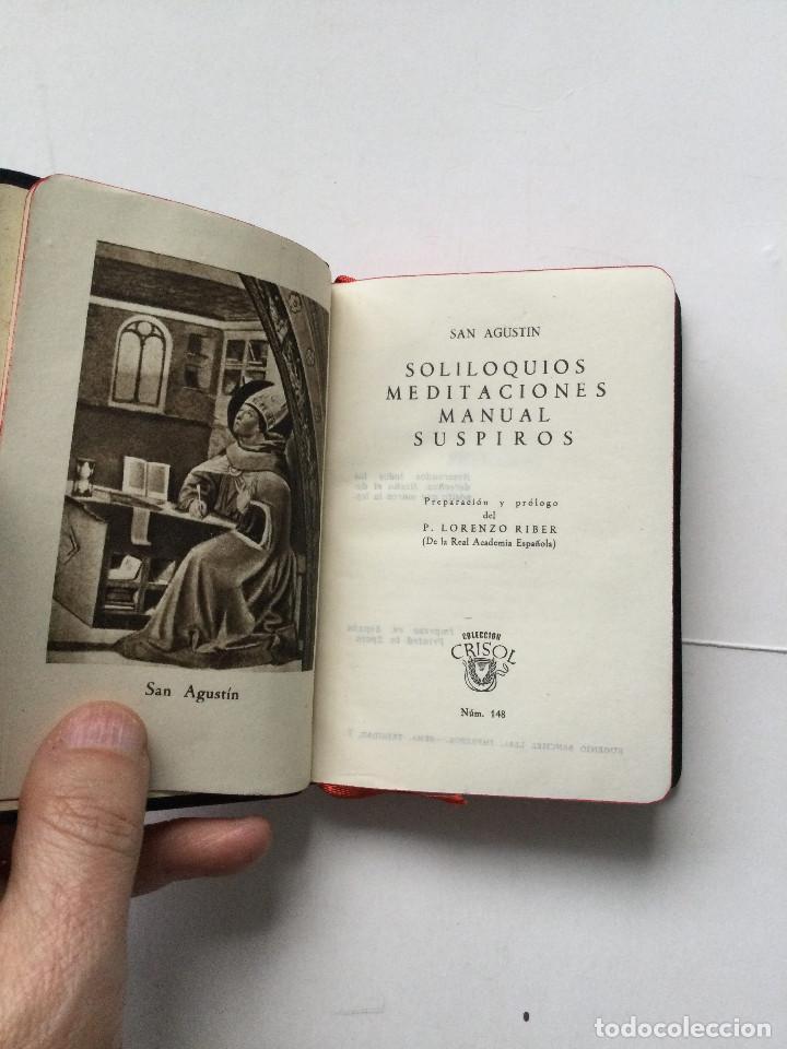 Libros antiguos: Crisol 148 Especial Tipo B, San Agustín, Meditaciones y Soliloquios, Aguilar - Foto 5 - 237264460