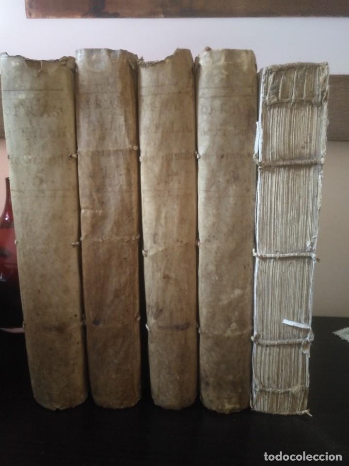 OBRAS DE FRAY LUIS DE GRANADA, VIUDA DE IBARRA, PEDRO MARÍN, MADRID 1788, 5 TOMOS (Libros Antiguos, Raros y Curiosos - Religión)