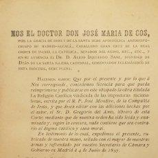 Libros antiguos: LA RELIGIÓN CATOLICA VINDICADA DE LAS IMPOSTURAS RACIONALISTAS. JOSÉ MENDIVE. 1898. Lote 237765480