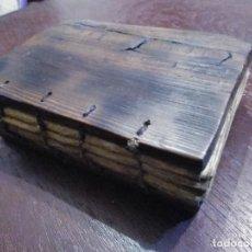 Libros antiguos: BIBLIA COPTA CRISTIANA ETIOPE. MANUSCRITO, S. XVIII - XIX / COPTIC ETIOPE CODE. Lote 42413902