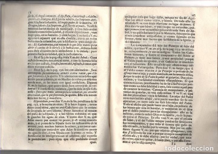 Libros antiguos: CARTA DEL MAESTRO DE NIÑOS A DON GABRIEL ALVAREZ DE TOLEDO, CAVALLERO DEL ORDEN DE ALCANTARA... 1713 - Foto 3 - 239420955