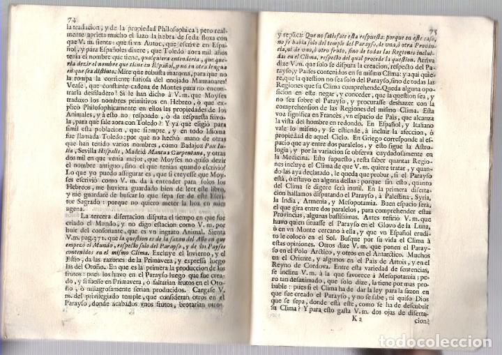 Libros antiguos: CARTA DEL MAESTRO DE NIÑOS A DON GABRIEL ALVAREZ DE TOLEDO, CAVALLERO DEL ORDEN DE ALCANTARA... 1713 - Foto 4 - 239420955