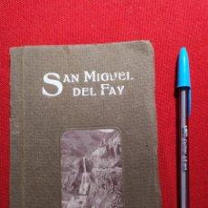Libros antiguos: 1923. DE BARCELONA A SAN MIGUEL DEL FAY. LUIS NADA Y POSAS.. Lote 239652940
