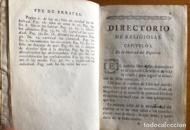 Libros antiguos: PERGAMINO- DIRECTORIO DE RELIGIOSAS- SAN FRANCISCO DE SALES- VALENCIA 1791 - Foto 2 - 239647220