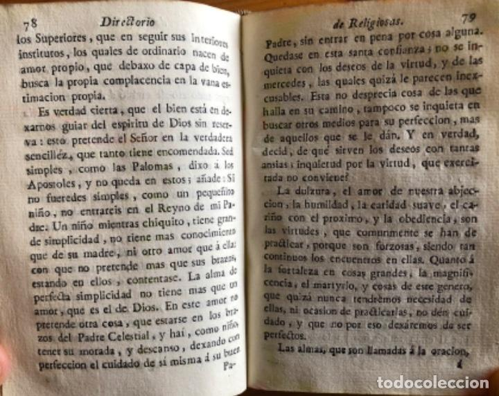 Libros antiguos: PERGAMINO- DIRECTORIO DE RELIGIOSAS- SAN FRANCISCO DE SALES- VALENCIA 1791 - Foto 4 - 239647220