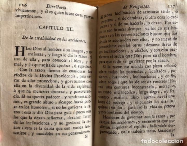 Libros antiguos: PERGAMINO- DIRECTORIO DE RELIGIOSAS- SAN FRANCISCO DE SALES- VALENCIA 1791 - Foto 6 - 239647220