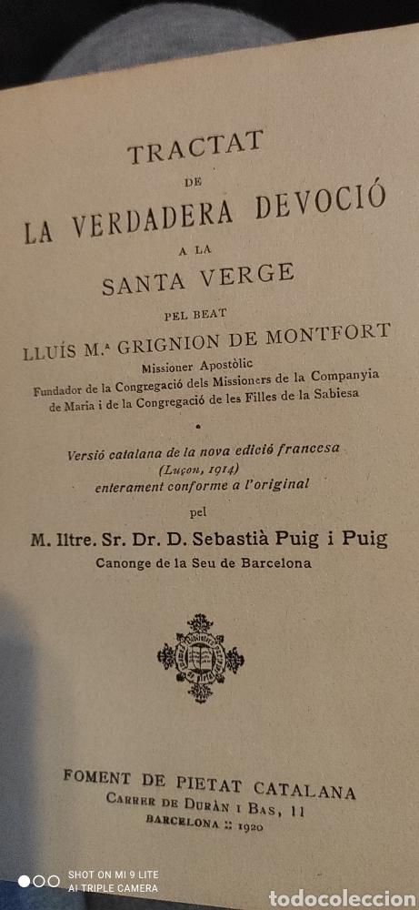 Libros antiguos: Libro de Grignion de Montfort - Foto 4 - 240098300