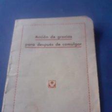 Libros antiguos: ANTIGUO LIBRITO DEL PADRE MOLINS. Lote 240199815