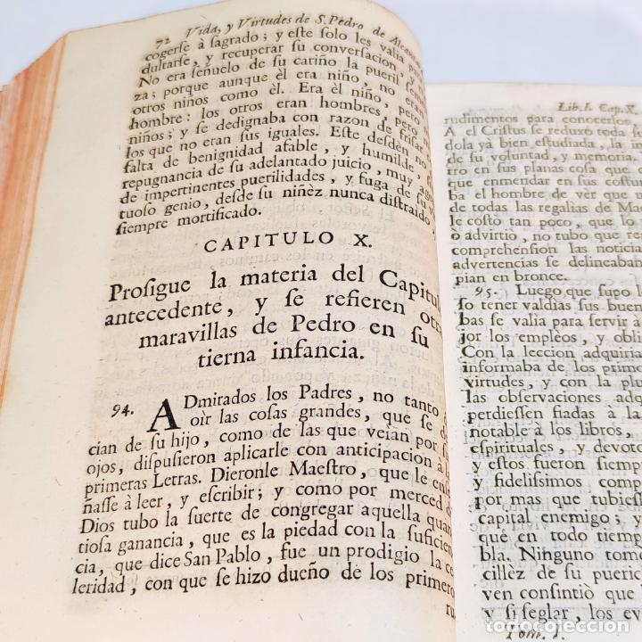 Libros antiguos: Vida admirable del Phenix Seraphico, y redivivo Francisco, San Pedro de Alcántara. 2 Tomos. 1765. - Foto 5 - 242476225