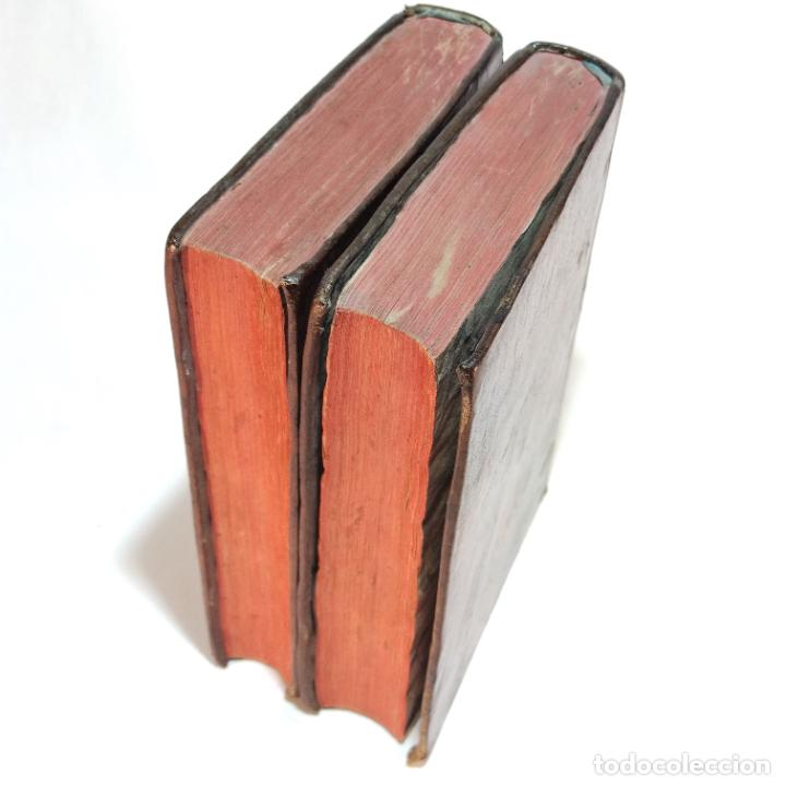 Libros antiguos: Vida admirable del Phenix Seraphico, y redivivo Francisco, San Pedro de Alcántara. 2 Tomos. 1765. - Foto 13 - 242476225