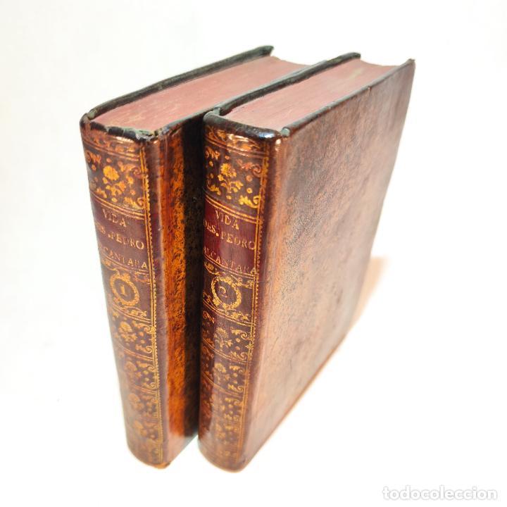 VIDA ADMIRABLE DEL PHENIX SERAPHICO, Y REDIVIVO FRANCISCO, SAN PEDRO DE ALCÁNTARA. 2 TOMOS. 1765. (Libros Antiguos, Raros y Curiosos - Religión)