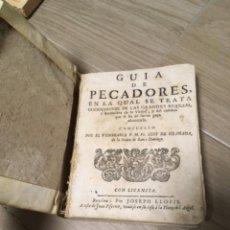 Libros antiguos: GUIA DE PECADORES. POR FRAY LUIS DE GRANADA. PERGAMINO. Lote 243646775