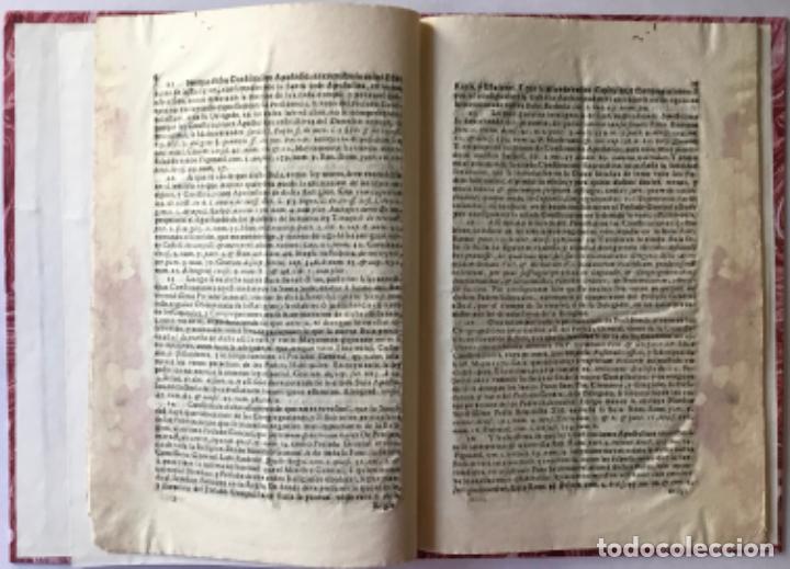 Libros antiguos: MANIFESTACION DEL DERECHO QUE ASSISTE AL M.R.P.FR. FRANCISCO MÁS EX-DEFINIDOR DE LA PROVINCIA DE... - Foto 2 - 243981045