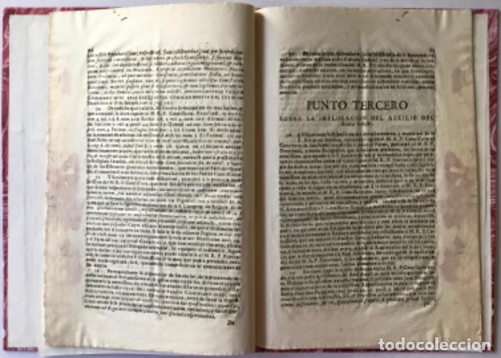 Libros antiguos: MANIFESTACION DEL DERECHO QUE ASSISTE AL M.R.P.FR. FRANCISCO MÁS EX-DEFINIDOR DE LA PROVINCIA DE... - Foto 3 - 243981045