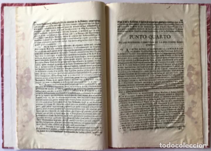 Libros antiguos: MANIFESTACION DEL DERECHO QUE ASSISTE AL M.R.P.FR. FRANCISCO MÁS EX-DEFINIDOR DE LA PROVINCIA DE... - Foto 4 - 243981045