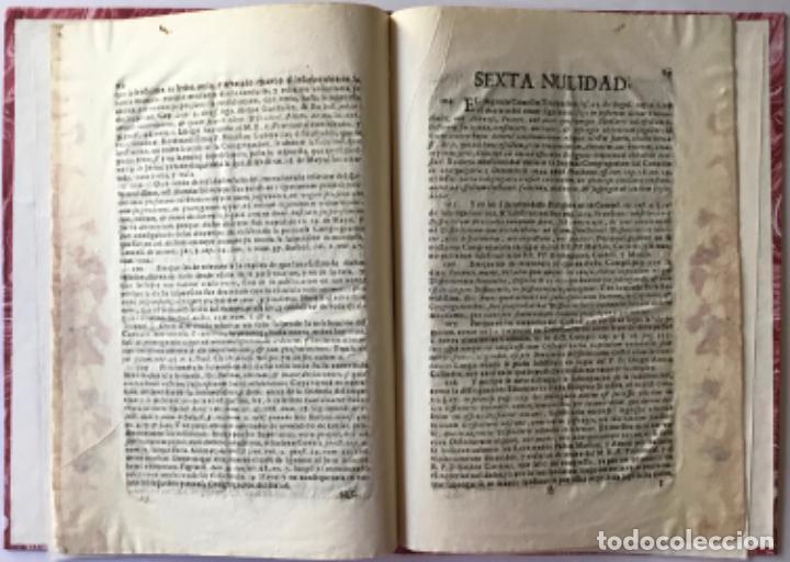 Libros antiguos: MANIFESTACION DEL DERECHO QUE ASSISTE AL M.R.P.FR. FRANCISCO MÁS EX-DEFINIDOR DE LA PROVINCIA DE... - Foto 5 - 243981045