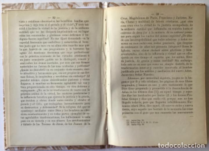 Libros antiguos: TESIS TEOLOGICA: JESUCRISTO ES NUESTRO MEDIADOR COMO HOMBRE, O SEA SEGUN LA NATURALEZA HUMANA, ... - Foto 2 - 244000470
