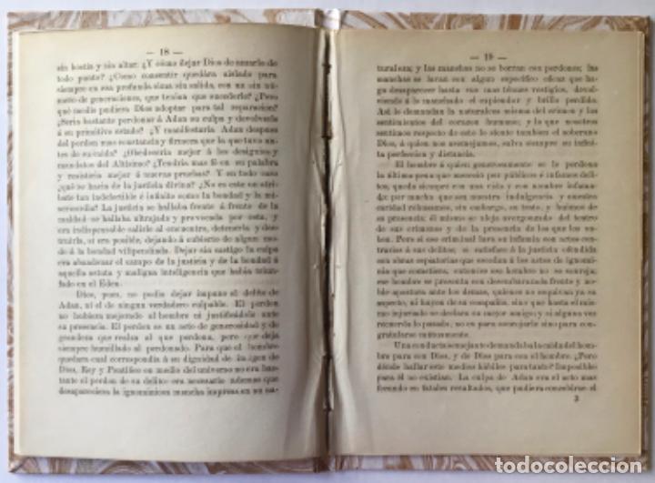 Libros antiguos: TESIS TEOLOGICA: JESUCRISTO ES NUESTRO MEDIADOR COMO HOMBRE, O SEA SEGUN LA NATURALEZA HUMANA, ... - Foto 3 - 244000470