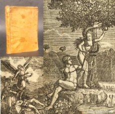 Libros antiguos: 1852 CATECISMO HISTÓRICO O COMPENDIO DE LA HISTORIA SAGRADA - PERGAMINO - LAMINAS. Lote 244200465