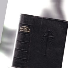 Libros antiguos: MISAL COMPLETO - LATINO CASTELLANO - P. VICENTE MOLINA, S. J. - EDITORIAL HISPANIA / VALENCIA. Lote 244718420
