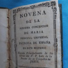 Libri antichi: NOVENA A LA BEATA CATALINA THOMAS -1794. Lote 244731200